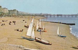 Brighton Beach and Pier - Sussex, England - pm 1983