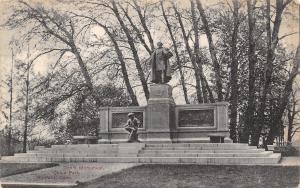 Bridgeport CT Samuel Colt 45 Monument c1910