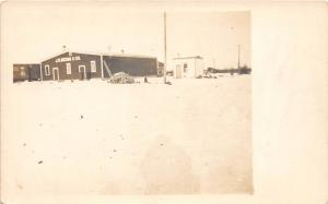 D87/ Cameron Wisconsin Wi Real Photo RPPC Postcard c1910 J.R. Beggs Factory