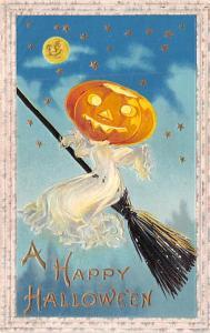Halloween Post Card Old Vintage Antique Samson Bros 1911