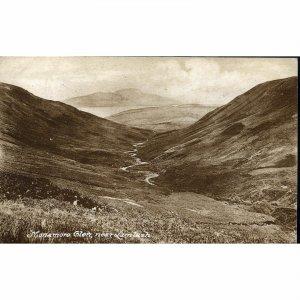 Postcard 'Monamore Glen, near Lamlash'