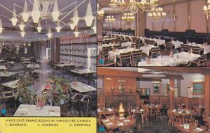 White Spot Dining Rooms , Vancouver, Oakridge & Granville , B.C. , Canada , 5...