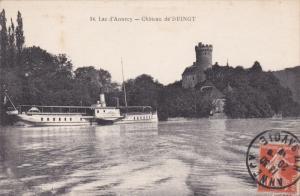 ANNECY , France , 00-10s ; Steamship , Chateau de DUINGT
