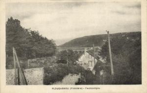 CPA Plougasnou - Feutcunigou (143787)