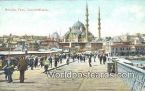 Nouveau Pont Constantinople, Turkey Postcard Post Card, Kart Postal, Carte Po...