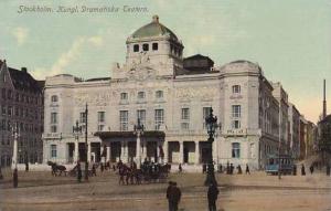 Sweden Stockholm Kungl Dramatiska Teatern