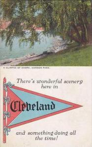 Ohio Cleveloand A Glimpse Of Shore Gordon Park 1923