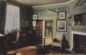 Virginia Mt.Vernon Masion West Parlor