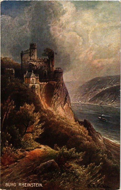 CPA AK Burg Rheinstein GERMANY (1011330)