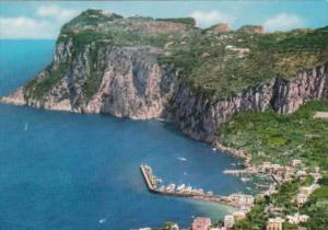 Italy Capri Aerial View Veduta dall'alto