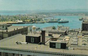 Steamer, M.V. Coho, Inner Harbour, Victoria, British Columbia, Canada, 1940-1...