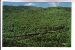 Train Crossing Bellevue Valley, Algoma Central Railway, Ontario