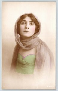 Aylesbury* UK Stage Actress~Cicely Debenham~Colorized~In Charity~c1912 RPPC