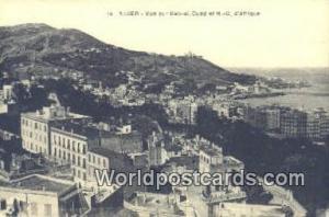 Alger Algeria, Africa, Vue sur Bab-el-Oued et ND D'Afrique  Vue sur Bab-el-Ou...