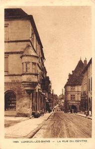 France Luxeuil Les Bains La Rue du Centre Street