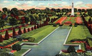 Minnesota Minneapolis-St Paul Sunset Memorial Park 1948 Curteich