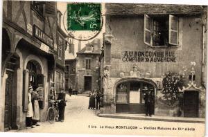 CPA Le Vieux MONTLUCON - Vieilles Maisons (262270)