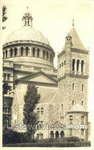 The First Church of Christ Boston MA Missing stamp postal used
