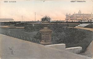 England Great Yarmouth Gardens Jardin 1907