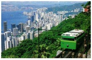 Peak Tramway Hong Kong Postcard PC1044