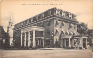 New Hampshire Newport  Gould´s Newport House  Host of Rotary Club on Back