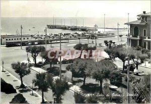 Postcard Modern Lido di Ostia Pontile