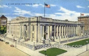 Indianapolis, IN USA Post Office Unused