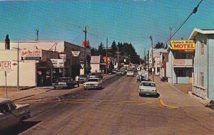 Fishing Town, Famous Ilwaco Port, Showing Captain Mike's Motel, Dorothy's C...