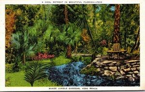 Florida Vero Beach McKee Jungle Gardens 1936