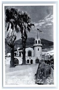Postcard Scotty's Castle, Death Valley Ranch, CA RPPC D16