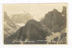 Byron HARMON Photo postcard, 1910s, Mt Leroy,The Beehive,Victoria Glacier,Lak...
