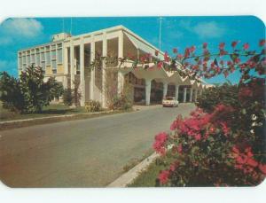 Pre-1980 AIRPORT SCENE St. Croix Us Virgin Islands USVI E3468