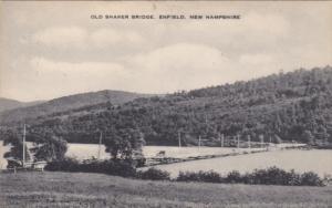 ENFIELD, New Hampshire, 1900-1910's; Old Shaker Bridge