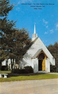 Dallas Texas~Restland Memorial Park Cemetery~Wildwood Chapel~Open Door~1950s PC