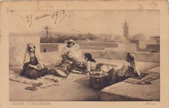 Tunisia Alsina 1913