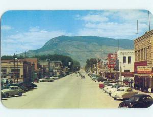 Unused Pre-1980 STREET SCENE Cody Wyoming WY hp1692