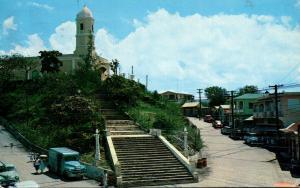 Puerto Rico Hormigueros Iglesia De La Monserrate 1959