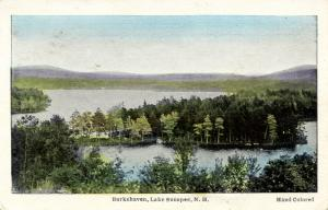 NH - Lake Sunapee. Burkehaven.   *RPO- St Albans & Boston Railroad