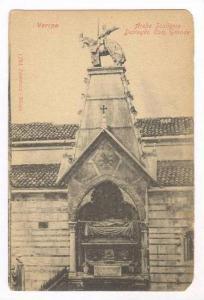 Verona, Italy, 1890s, Arche Scaligere Dettaglio can. Grande