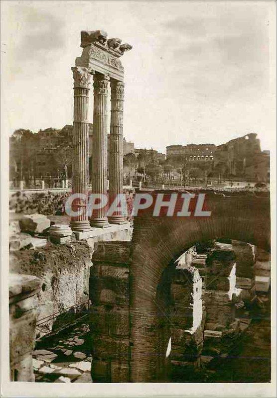 Postcard Modern Rome Tempio di Venere progenitor nel Foro di Cesare