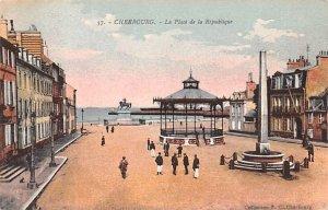La Place de la Republique Cherbourg France Unused