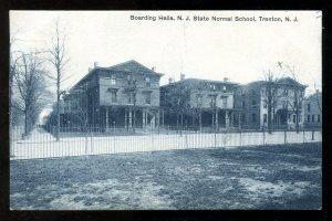 dc246 - TRENTON NJ 1909 Boarding Halls Of Normal School
