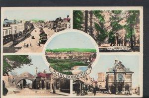 Wiltshire Postcard - Views of Marlborough  T275