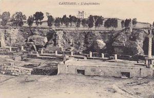 L'Amphitheatre, Carthage, Tunisia, Africa, 1900-1910s