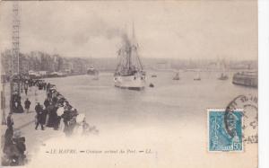 LE HAVRE, Seine Maritime, France; Croiteur srtant du Port, 00-10s