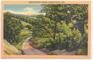 Greetings from Rossville, Georgia, 20-40
