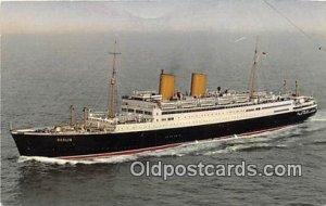 MS Berlin Norddeutscher Lloyd Bremen Ship Unused