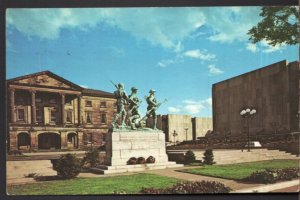 Prince Edward Island CHARLOTTETOWN War Memorial and Province House - pm - Chrome