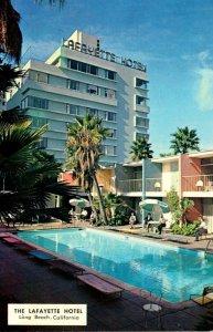 California Long Beach The Lafayette Hotel 1958