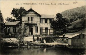 CPA  La Léchére-les-Bains - N.-D. de Briancon (Savoie) - L'Hotel ... (651296)